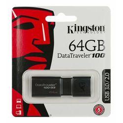 Pendrive Kingston 64GB DataTraveler 100 G3 - USB 3.0