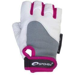 Rękawice fitness SPOKEY Zolia (rozmiar L) Wielokolorowy