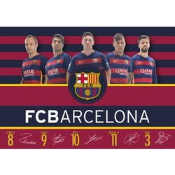 Podkład na biurko FC Barcelona Fan 4 FC-119