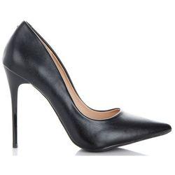 Eleganckie i Klasyczne Szpilki Damskie firmy Bellucci Czarne (kolory)