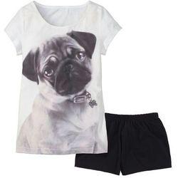 Piżama bonprix z motywem psa