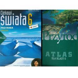 Ciekawi świata 6 Przyroda Podręcznik + Przyroda Atlas - Wysyłka od 3,99 - porównuj ceny z wysyłką (opr. miękka)