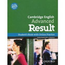 Cambrigde English Advanced Result SB & Online Practice 2015