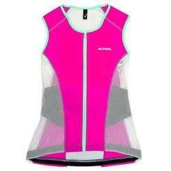Alpina Sports ochraniacz pleców JSP Women Vest White/Berry L