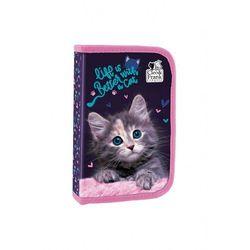 Piórnik jednokomorowy z kotem 3Y40G0 Oferta ważna tylko do 2031-04-12