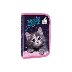 Piórnik jednokomorowy z kotem 3Y40G0 Oferta ważna tylko do 2031-09-17