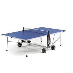 Stół tenisowy SPORT 100S CROSSOVER OUTDOOR Niebieski + 2 rakietki i 3 piłeczki GRATIS!