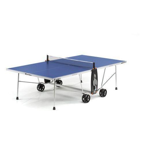Tenis stołowy, Stół tenisowy SPORT 100S CROSSOVER OUTDOOR Niebieski + 2 rakietki i 3 piłeczki GRATIS!