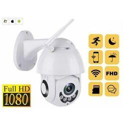 Kamera Zewnętrzna IP FULL HD (cały świat) Obrotowa, Dz-Nocna z Fonią + Zoom + Zapis + Powiadomienia.