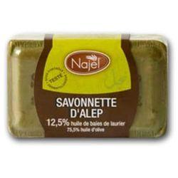 Najel Mydło Aleppo oliwkowo - laurowe 12,5 %, 100 g