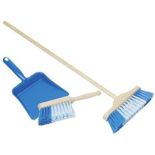Zestawy do sprzątania dla dzieci, Niebieski zestaw do sprzątania