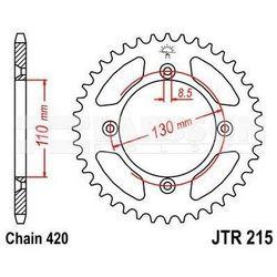 Zębatka tylna stalowa JT R215-55, 55Z, rozmiar 420 2302505 Honda CR 80