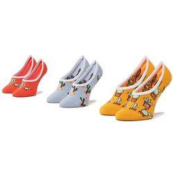 Zestaw 3 par stopek dziecięcych VANS - Beachin' Canoodles Socks VN0A4DSK4481 r.31.5-36 Multi