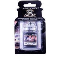 Odświeżacze powietrza do samochodu, Yankee Candle Black Coconut Car Jar zapach samochodowy 1 szt unisex