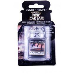 Yankee Candle Black Coconut Car Jar zapach samochodowy 1 szt unisex