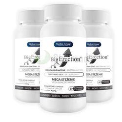 MEGA ZESTAW 2+1 Gratis BigErection 180 tab. | 100% DYSKRECJI | BEZPIECZNE ZAKUPY RABAT -33%
