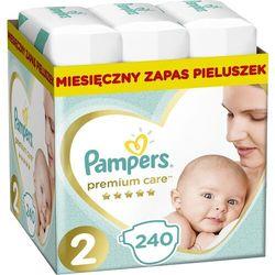 PAMPERS Premium Care 2 MINI 240 szt. (3-6 kg) ZAPAS NA MIESIĄC - pieluchy jednorazowe