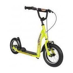 """Hulajnoga dla dzieci, pompowane koła 12"""" BikeStar kolor zielony"""