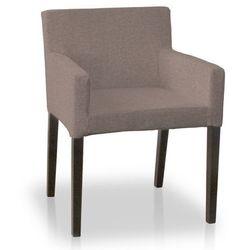 Dekoria Sukienka na krzesło Henriksdal krótka Jupiter 127-02, krzesło henriksdal
