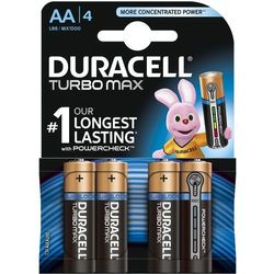 Bateria DURACELL Turbo PowerCheck LR6/AA MN1500 K4