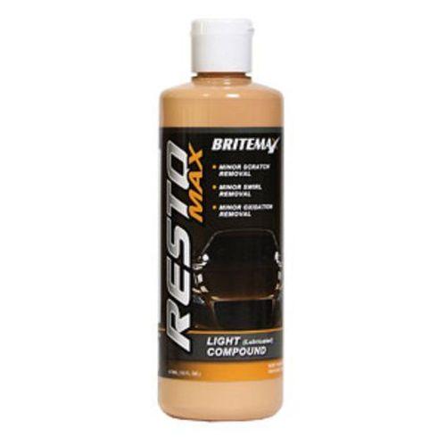 Pasty polerskie do karoserii, Britemax Resto Max - Light Compound 473ml rabat 50%