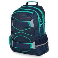 Tornistry i plecaki szkolne, Karton P+P plecak anatomiczny OXY SPORT Pastel Line Green