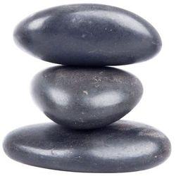 Kamienie wulkaniczne do masażu inSPORTline River Stone 8-10 cm - 3 szt.
