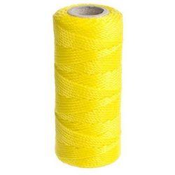 Sznurek polipropylenowy 12 kg 1 mm x 50 m skręcany żółty FLUO STANDERS