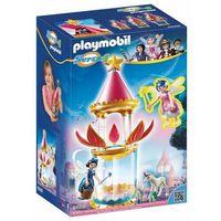 Klocki dla dzieci, Playmobil Grająca kwiatowa wieża z iskierką i donellą 6688