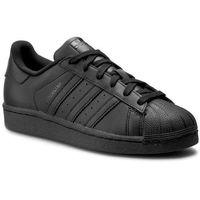 Buty sportowe dla dzieci, Buty adidas - Superstar Foundation J B25724 Cblack