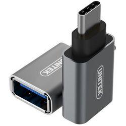 Adapter USB Unitek USB TypC do USB (Y-A025CGY) Szybka dostawa! Darmowy odbiór w 19 miastach!