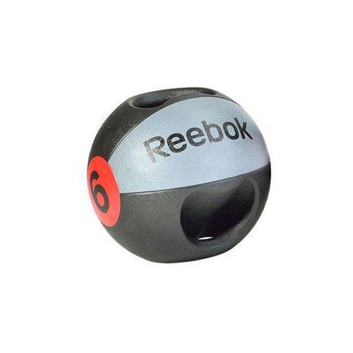 Piłki i skakanki, Piłka lekarska z uchwytem Reebok 6 kg - 6 kg