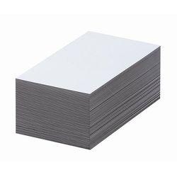 Magnetyczna tablica magazynowa, białe, wys. x szer. 60x100 mm, opak. 100 szt. Za