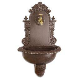 OGRODOWY zlew wylewka fontanna żeliwna kran GRATIS