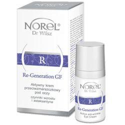 Norel (Dr Wilsz) RE-GENERATION GF Aktywny krem przeciwzmarszczkowy pod oczy (DZ225)