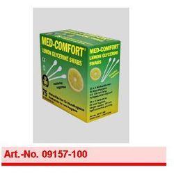 Art. nr 09157-150 MED-COMFORT - 150 mm Patyczki higieniczne do czyszczenia jamy ustnej o smaku Lemon- glicerynowe wyprzedaż