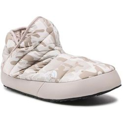Kapcie THE NORTH FACE - Thermoball Traction Bootie NF0A3MKH32B1 Print/Silver Grey