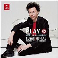 Pozostała muzyka rozrywkowa, PLAY: WORKS FOR CELLO AND PIANO (FROM OFFENBACH TO ROSTROPOVICH) - Moreau, Edgar, Pierre-yves Hodique (Płyta CD)