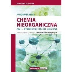 Chemia nieorganiczna t.1 Wprowadzenie i analiza ilościowa (opr. miękka)