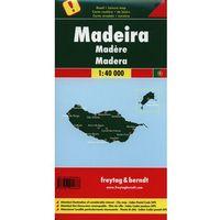 Mapy i atlasy turystyczne, Madera. Mapa 1:40 000 (opr. twarda)