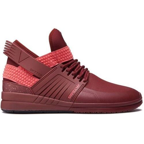 Obuwie sportowe dla mężczyzn, buty SUPRA - Skytop V Brick Red/Brick Red (625) rozmiar: 45.5