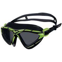 Okularki pływackie, Okulary do pływania Arena X-Sight smoke-acid lime