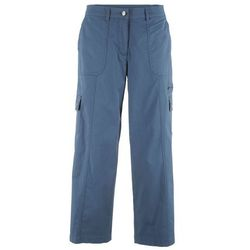 "Spodnie 7/8 ""papertouch"" STRAIGHT bonprix indygo"