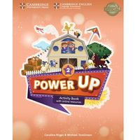 Książki do nauki języka, Power Up Level 2 Activity Book with Online Resources and Home Booklet (opr. miękka)