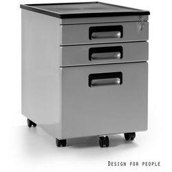 Kontener biurowy 324 Srebrny