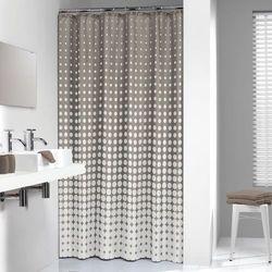 Sealskin Zasłona prysznicowa Speckles,180 cm, ciemnoszara, 233601367 Darmowa wysyłka i zwroty