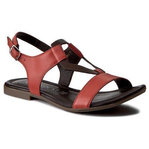 Sandały damskie, Sandały LASOCKI - WI16-ELBA-01 Czerwony