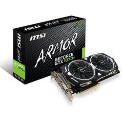 MSI GeForce GTX 1070 Ti ARMOR 8GB DDR5 DVI-D/HDMI/3DP