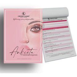 Notes Dla Stylistki Crystal Lashes - Ankieta Przedzabiegowa
