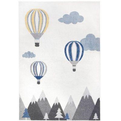 Dywan Dziecięcy Komfort Easy Balon 140x200 Biały Marki Roomzonepl